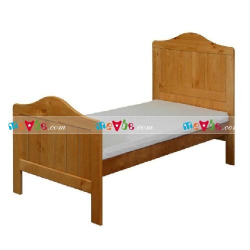 Cũi trẻ em Darling màu tự nhiên ráp thành giường mẫu giáo dùng cho trẻ đến 6-7 tuổi