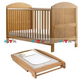 Lido tự nhiên: giường cũi, bàn thay tã