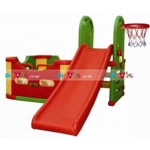Cầu tuột bóng rổ nhà liên hoàn