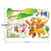 Decal dán tường Winnie The Pooh in Jungle