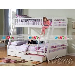 Giường tầng Jason màu trắng