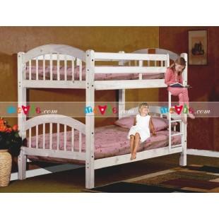Giường tầng New Royal màu trắng