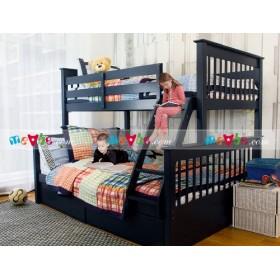 Giường tầng Russell màu navy