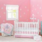 Bộ quây cũi vải Pink Elephant